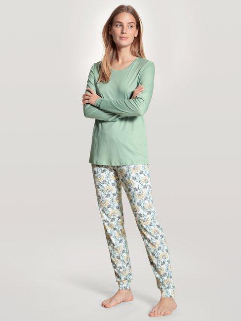 CALIDA Cosy Nights Bündchen-Pyjama