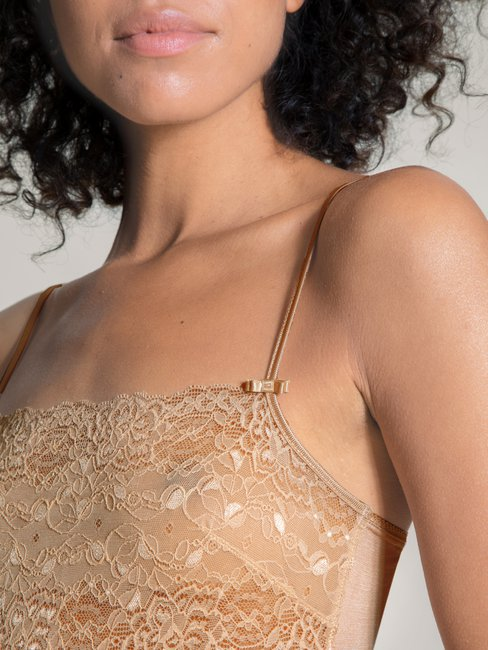 CALIDA Sensual Secrets Top à fines bretelles avec dentelle