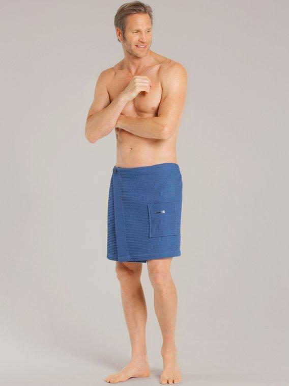 TAUBERT Thalasso Herren Sauna-Kilt aus Piqué