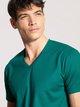 CALIDA Remix 4 Kurzarm-Shirt, V-Neck