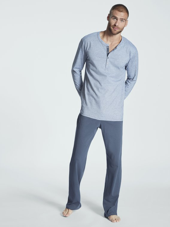 SCHIESSER Ebony Pyjama lang