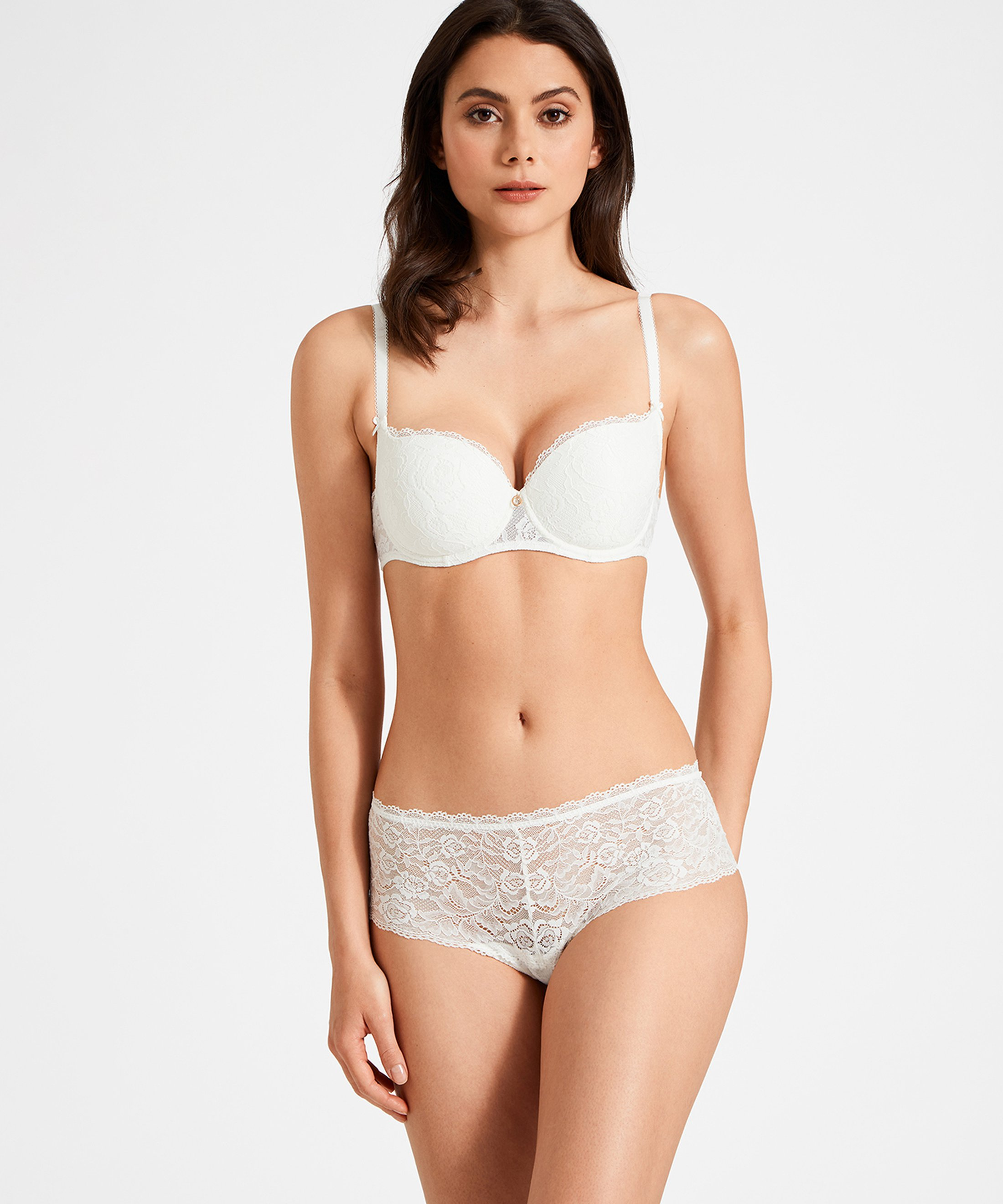ROSESSENCE Moulded half-cup bra Opale | Aubade