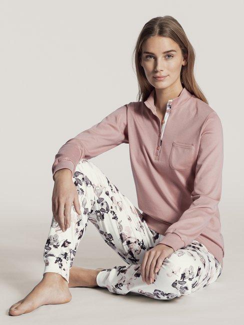 CALIDA Midnight Dreams Bündchen-Pyjama