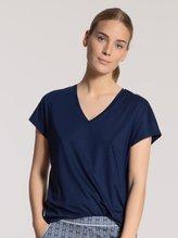 CALIDA Favourites Spring Kurzarm-Shirt, V-Neck