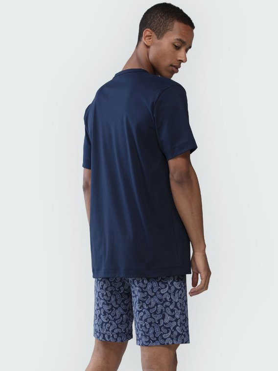 MEY Night Basic Kurz-Pyjama