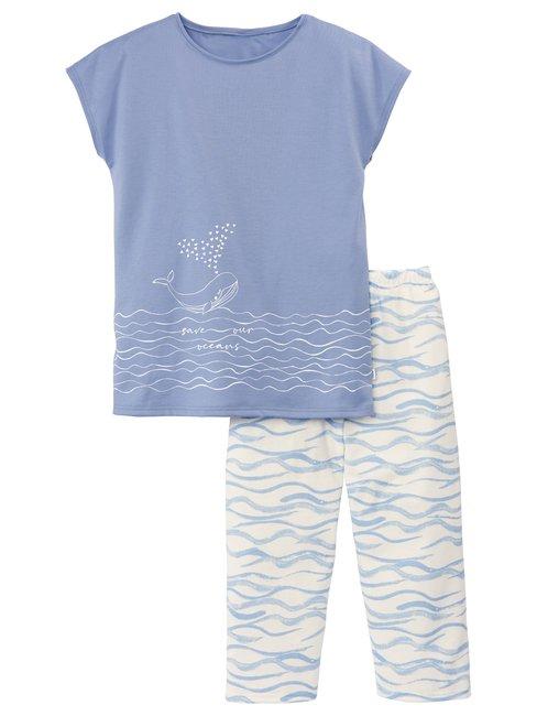 CALIDA Girls Whale Mädchen 3/4-Pyjama