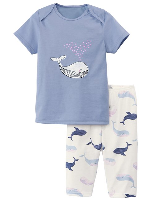 CALIDA Toddlers Whale Kinder 3/4-Pyjama