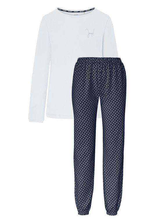 JOOP! Easy Leisure Bündchen-Pyjama