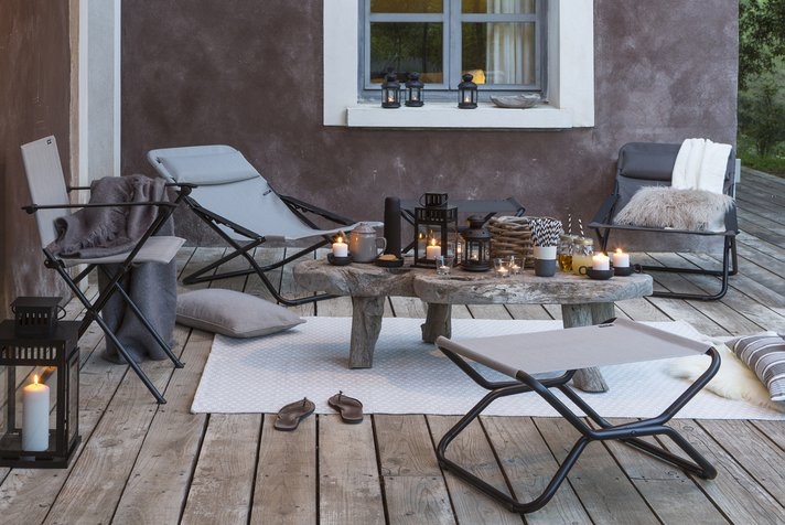 How to set up an outdoor terrace ?