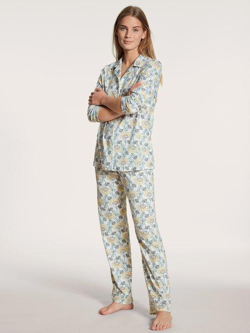CALIDA Cosy Nights Pyjama, durchgeknöpft