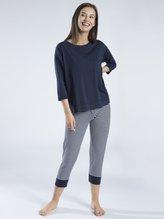 MEY Serie Demi Pyjama mit 7/8-Leggings