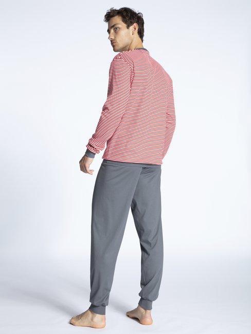 CALIDA Relax Streamline 3 Bündchen-Pyjama