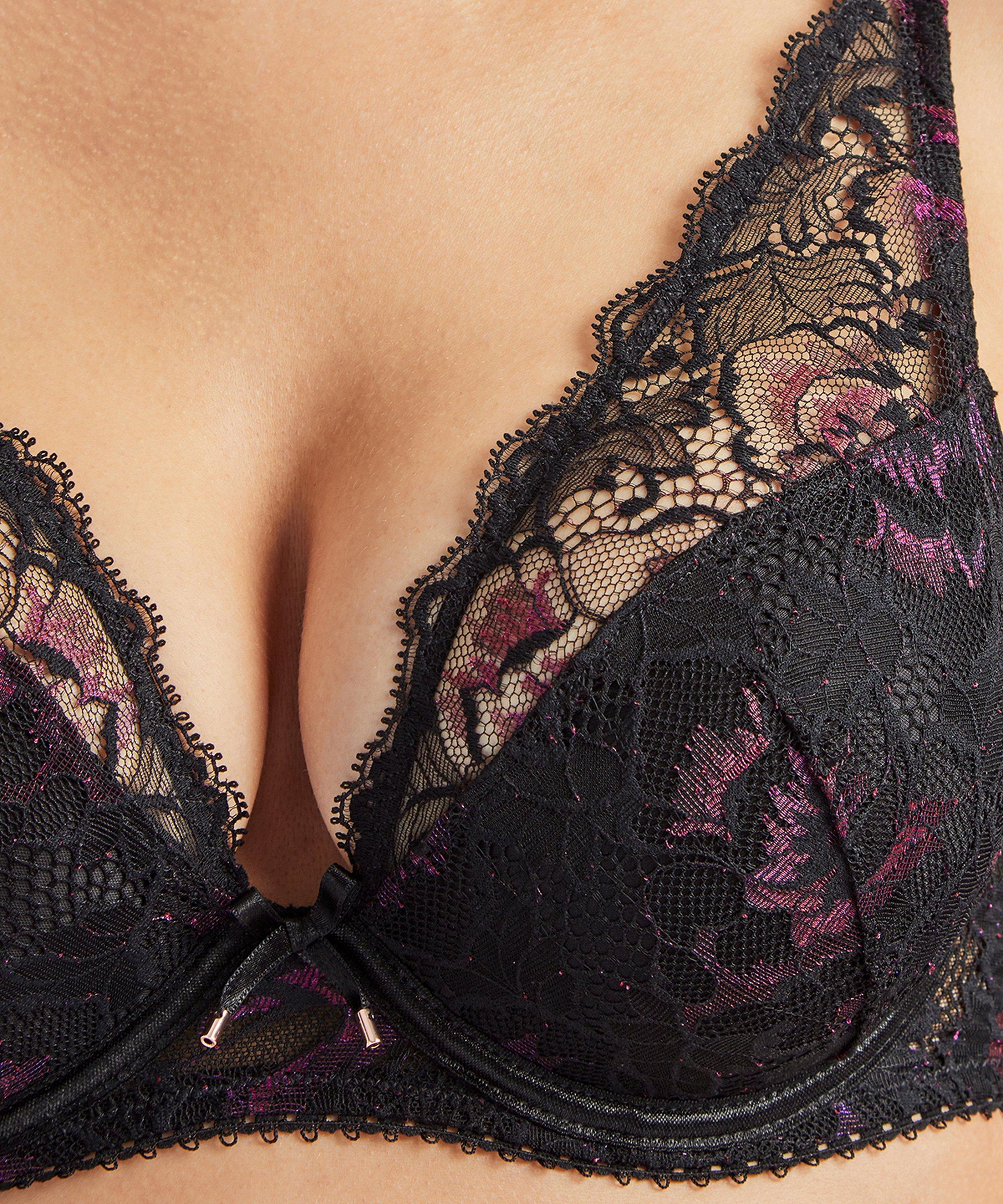 AUBE AMOUREUSE Soutien gorge plunge foulard Violetta | Aubade
