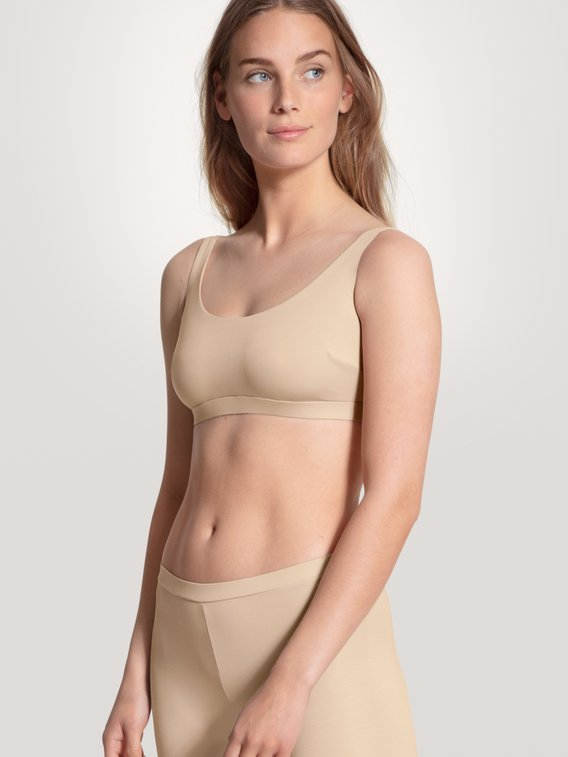 CALIDA Natural Skin Bustier, Compostable
