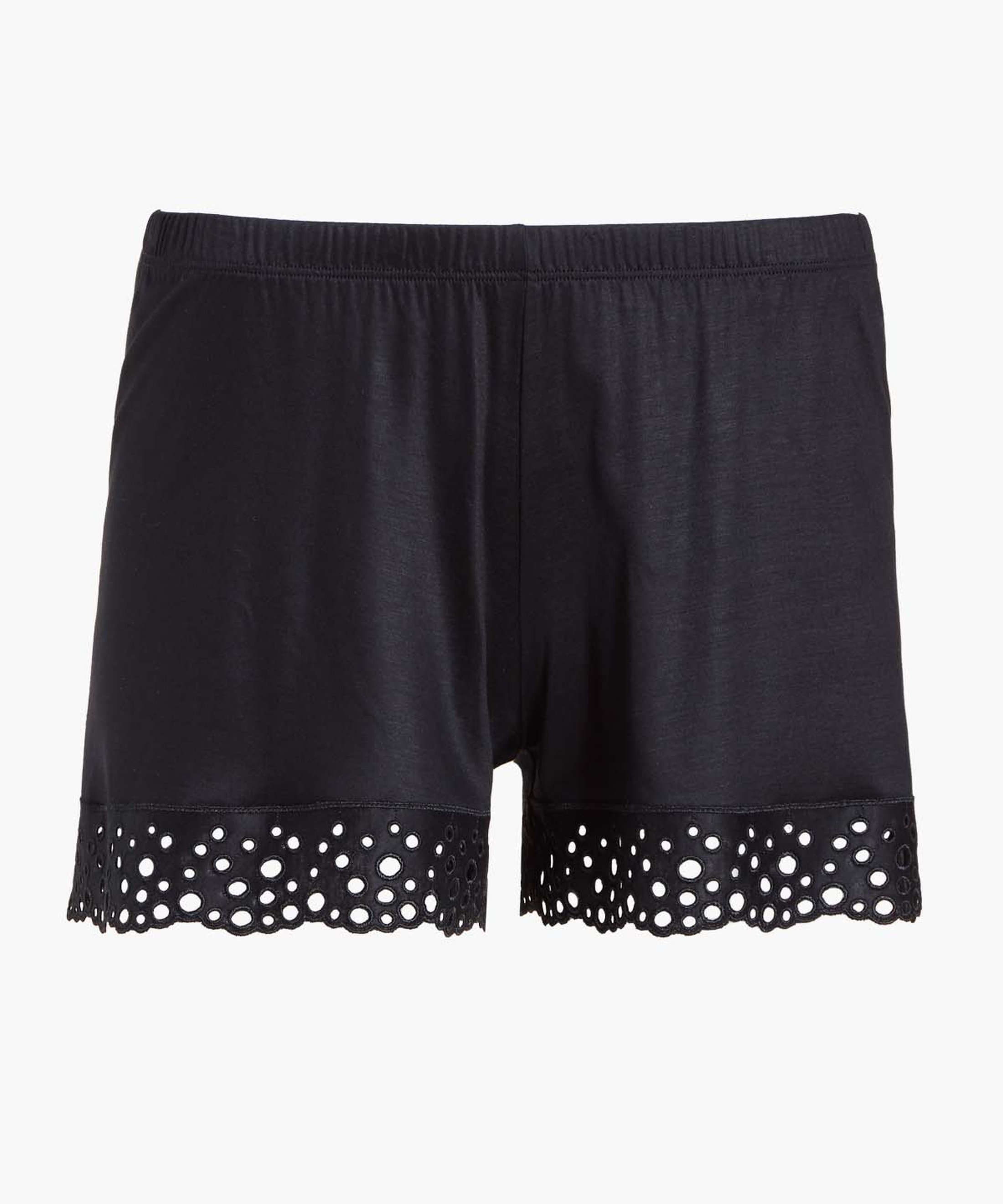 BULLE DE DOUCEUR Shorty en Tencel Noir | Aubade