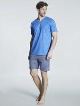 MEY Serie Robertson Kurz-Pyjama