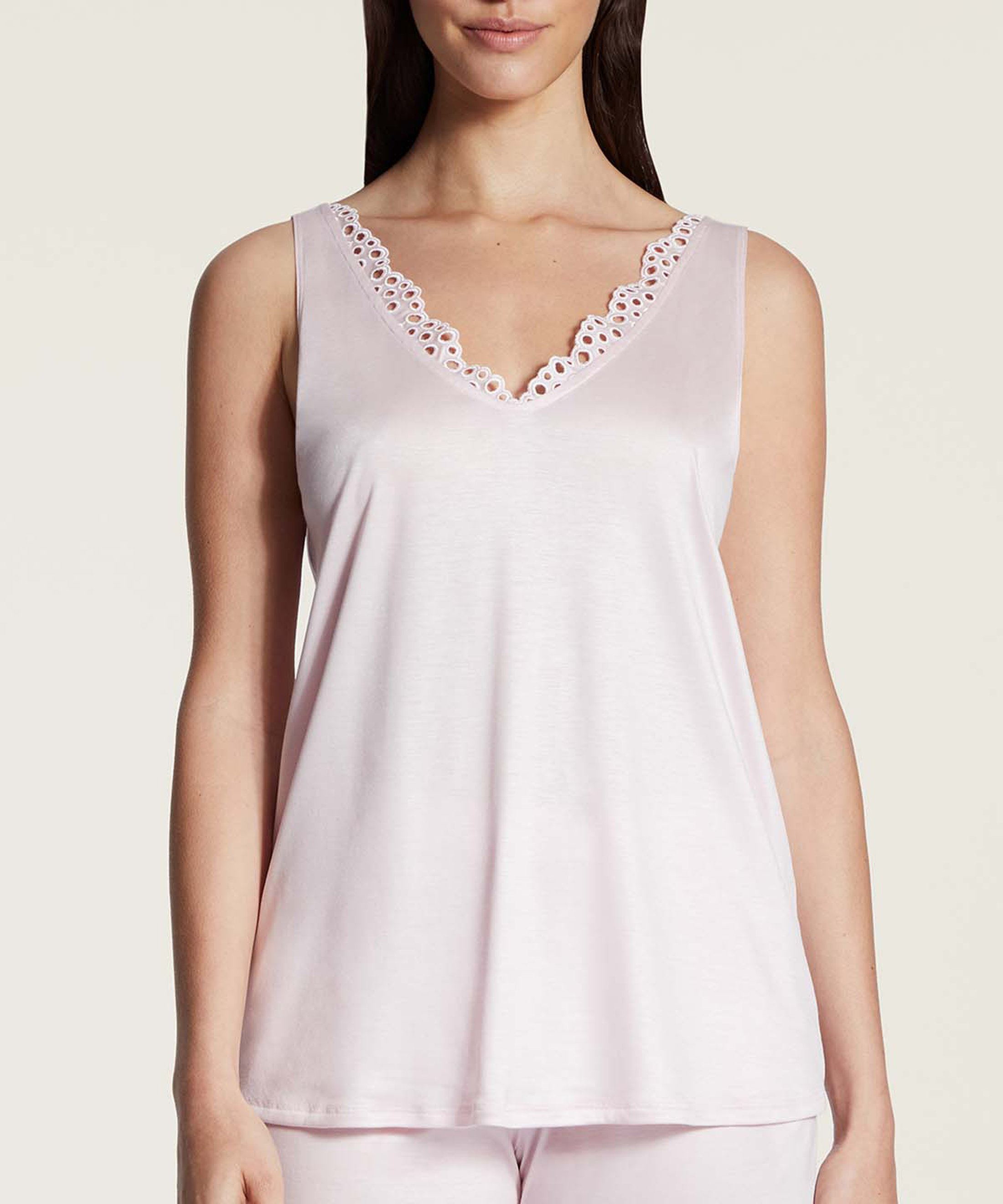 BULLE DE DOUCEUR Tencel Top Light Pink | Aubade