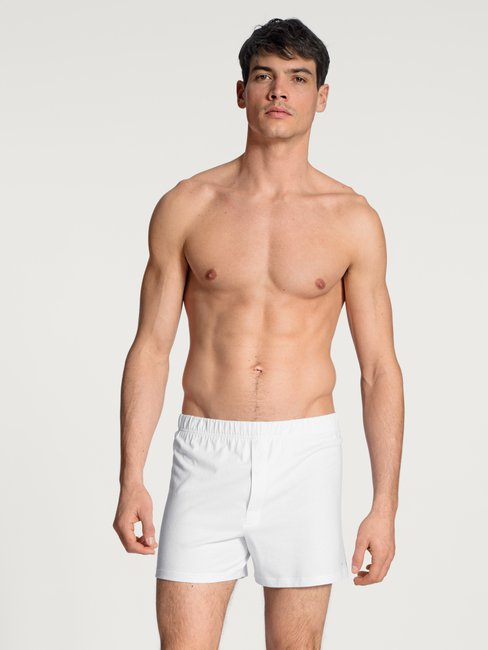 CALIDA Cotton Code Boxer shorts with fly