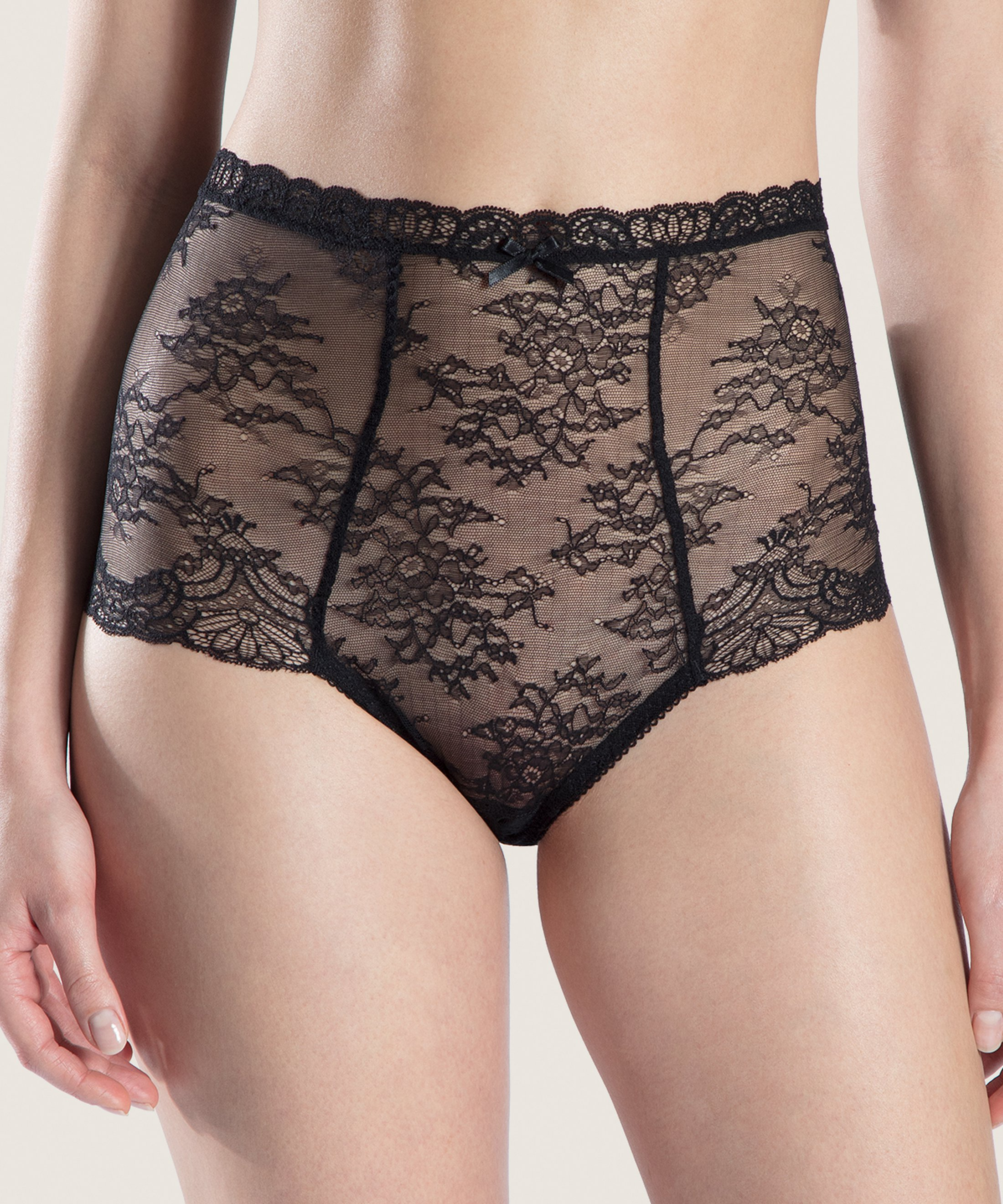 DANSE DES SENS High-waist Brief Black | Aubade