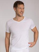 SCHIESSER Long Life Cool Unterhemd mit V-Ausschnitt