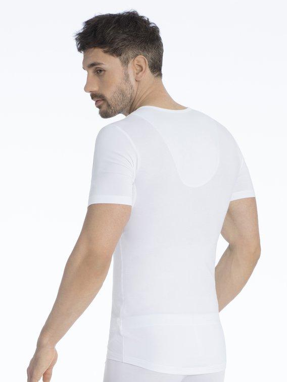 MEY Dry Cotton Functional Kurzarm-Shirt mit Shape-Funktion