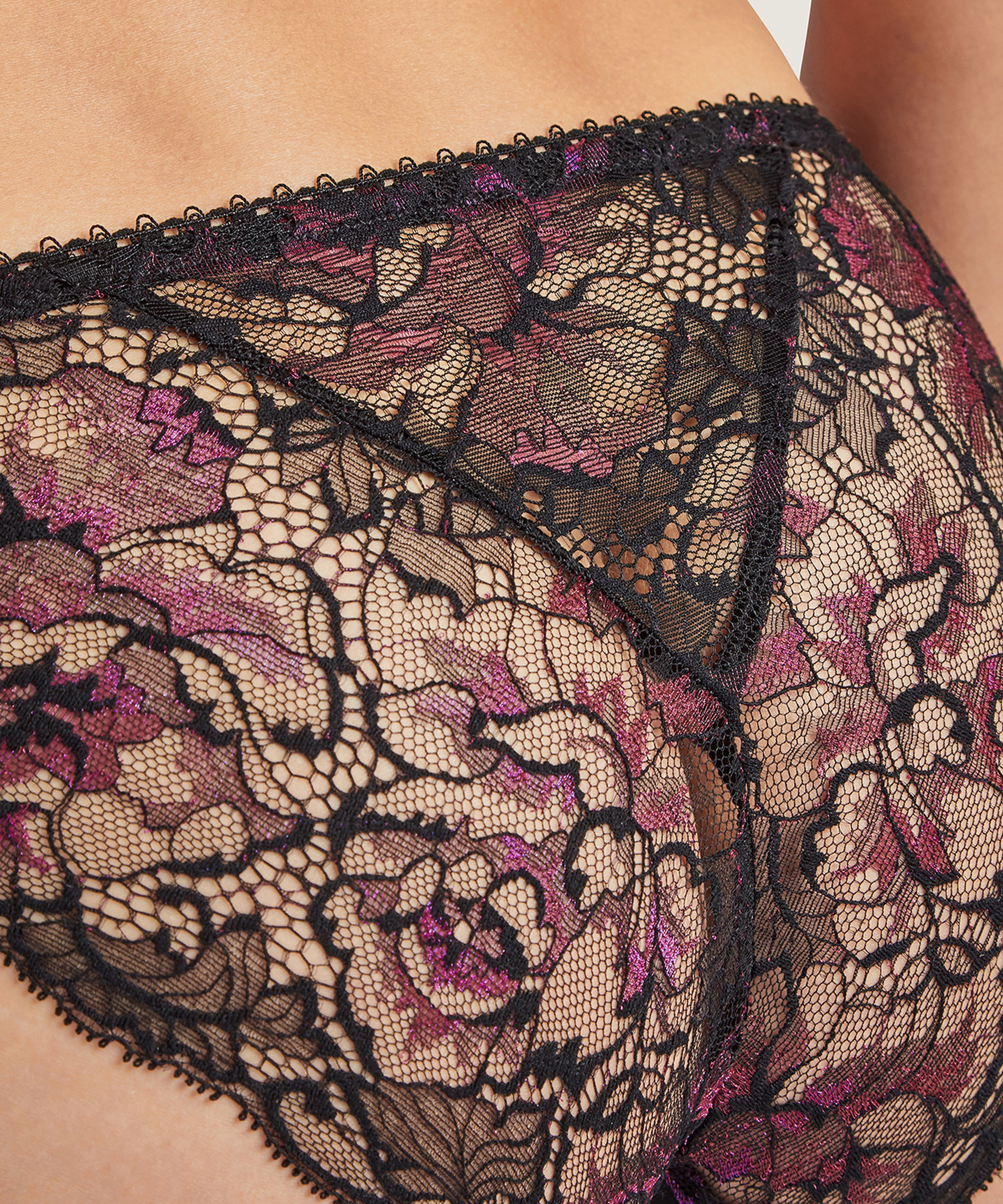 AUBE AMOUREUSE Culotte Italienne Violetta | Aubade