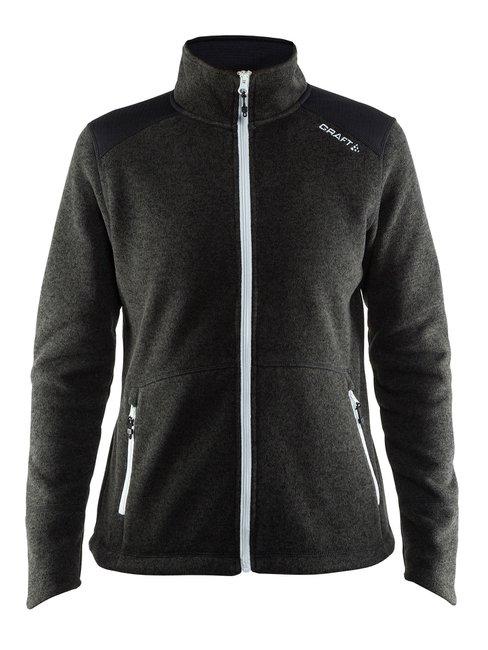 CRAFT Casual Zip Fleece Jacket Heavy Knit W