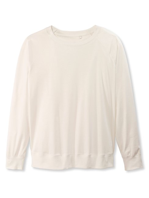 CALIDA Favourites Neutrals Sweat-Shirt, Raglanärmel