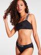 CALVIN KLEIN Intense Power-S Bikini-Hose mit Logobund