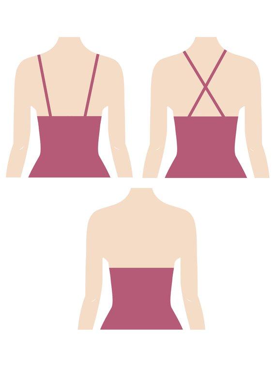 TRIUMPH True Shape Sensation Shaping-Kleid, gepaddete Cups