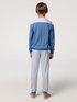 CALIDA Yellowbration Jungen Bündchen-Pyjama