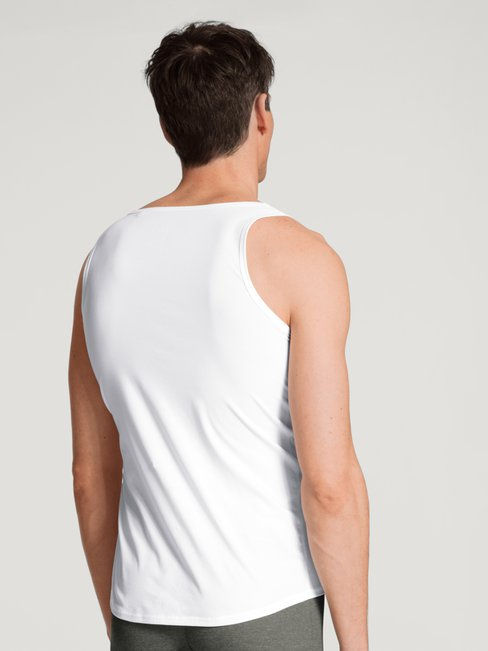 CALIDA Fresh Cotton Athletic-Shirt mit Frackschnitt