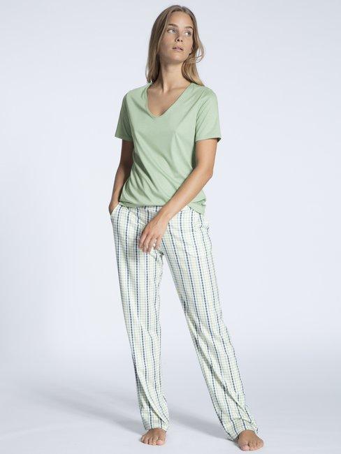 CALIDA Favourites Trend 4 Kurzarm-Shirt, V-Neck