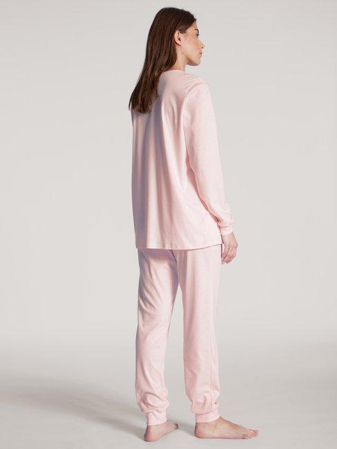 CALIDA Cosy Cotton Nights Pyjama avec bords élastiques