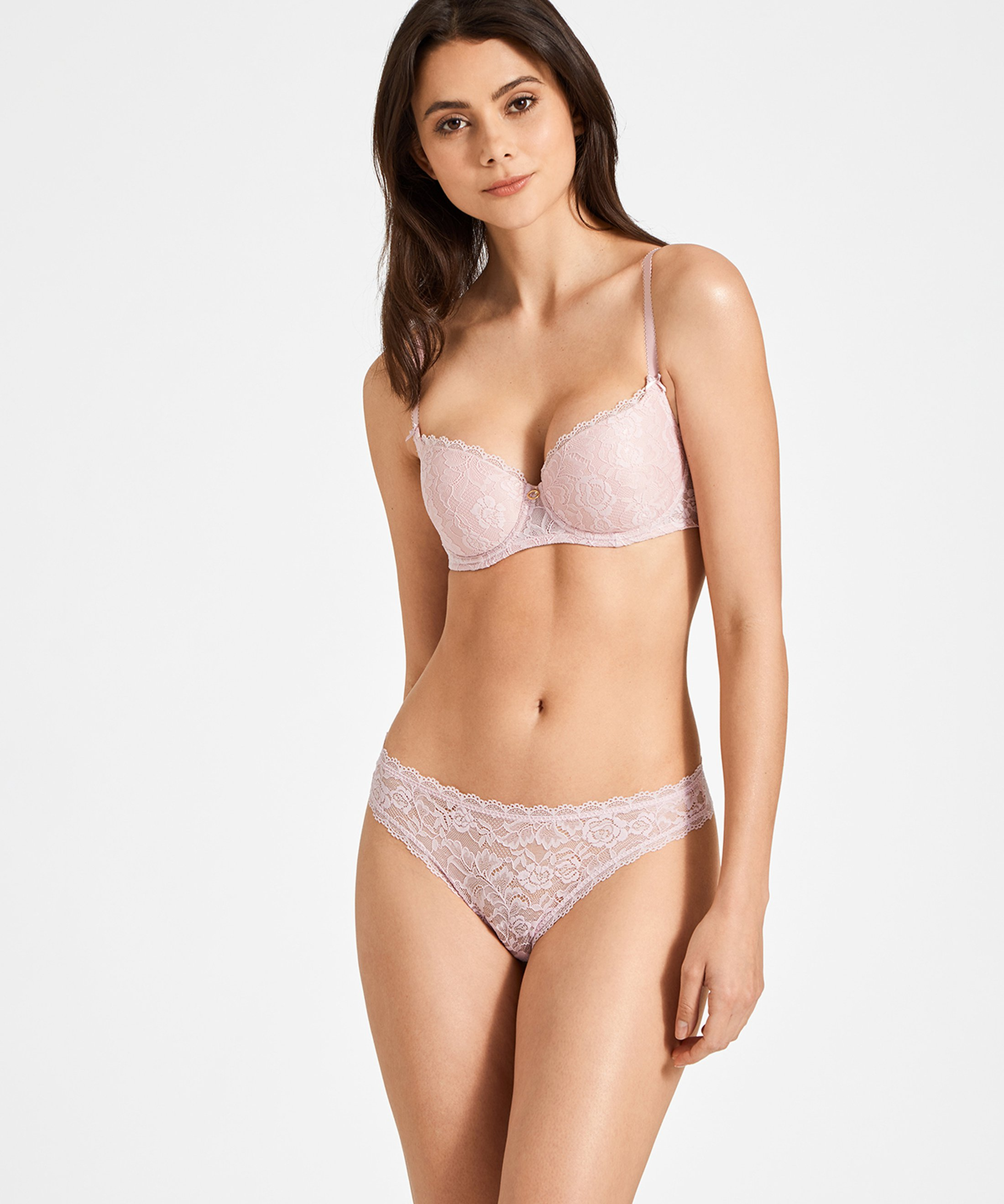 ROSESSENCE Soutien-gorge corbeille coque Powder Pink | Aubade