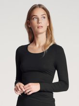 CALIDA Natural Comfort Langarm-Shirt, Rundhals
