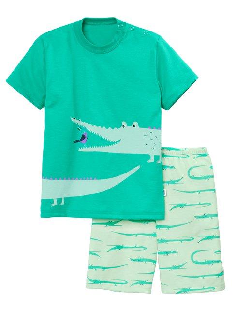 CALIDA Toddlers Crocodile Kinder Kurz-Pyjama