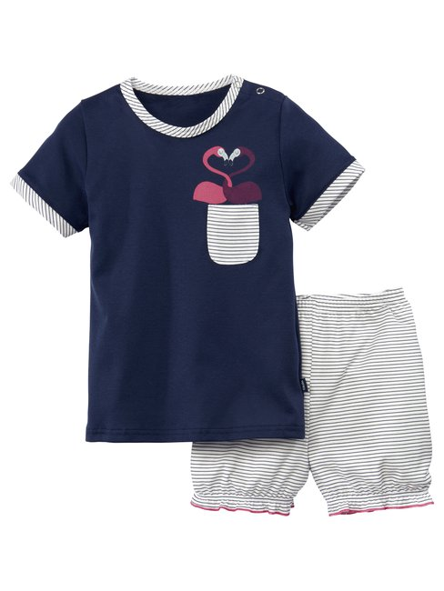 CALIDA Toddlers Flamingo Pyjama court