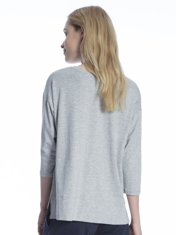 MEY Serie Demi Shirt, 3/4-Ärmel