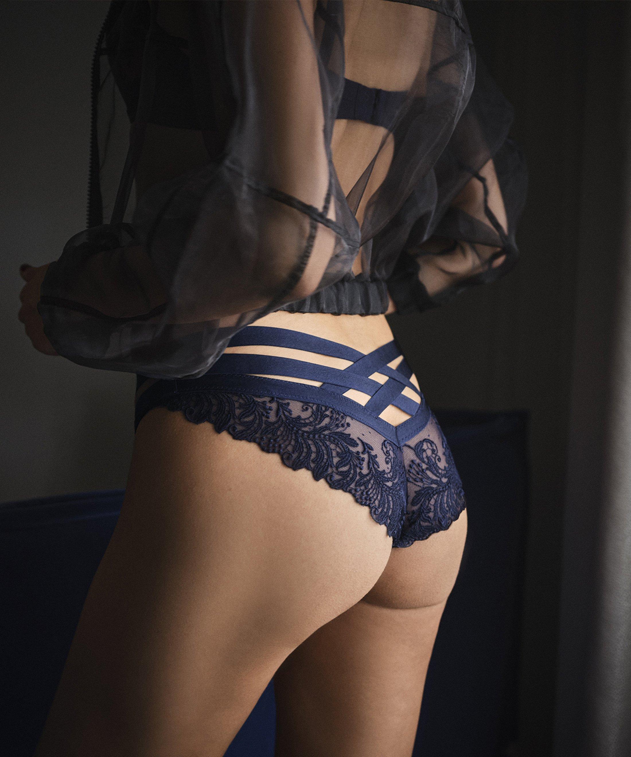 FEMME PASSION Mini-coeur brief Crépuscule Blue | Aubade