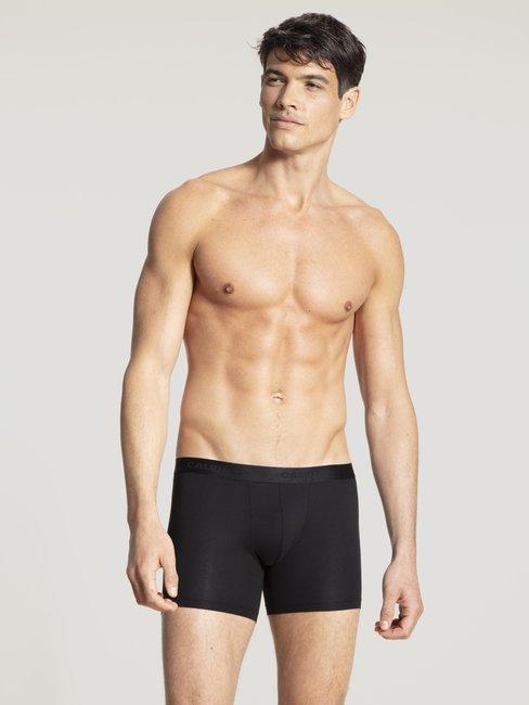 CALIDA Natural Benefit Boxer con gamba più lunga, confezione da 3
