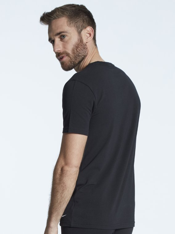 NIKE Everyday Cotton Stretch S/S Crew Neck, 2er-Pack