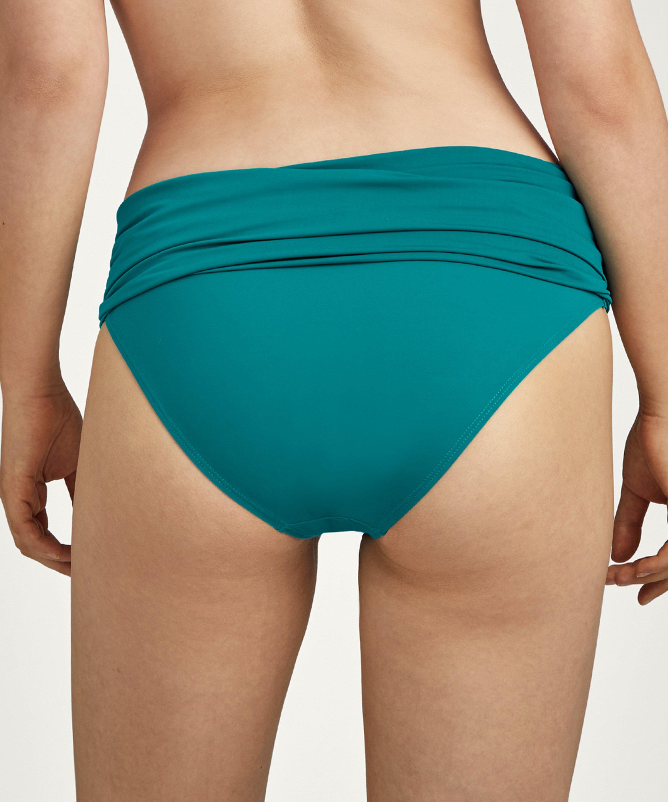 LA PLAGE ENSOLEILLÉE Brazilian bikini bottom Mineral Green | Aubade