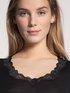 CALIDA Richesse Lace Shirt a manica corta