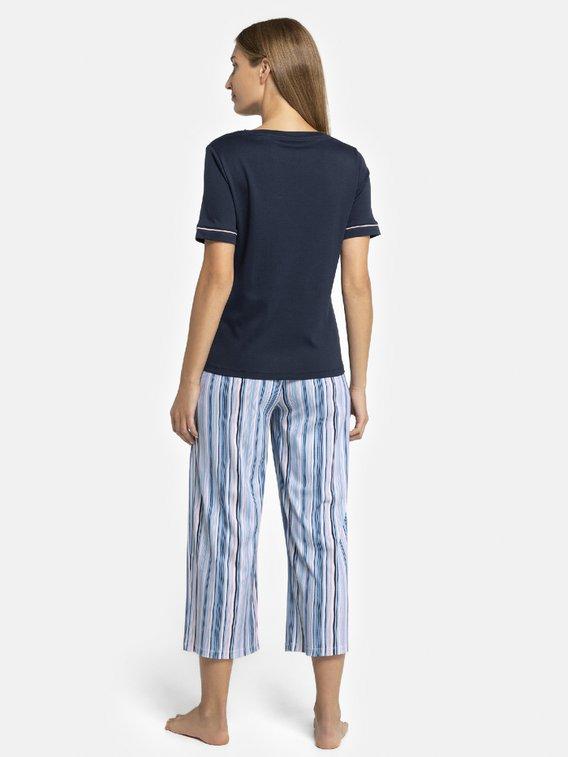 SEIDENSTICKER Modern Stripes Pyjama, lang