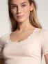 CALIDA Richesse Lace Kurzarm-Shirt