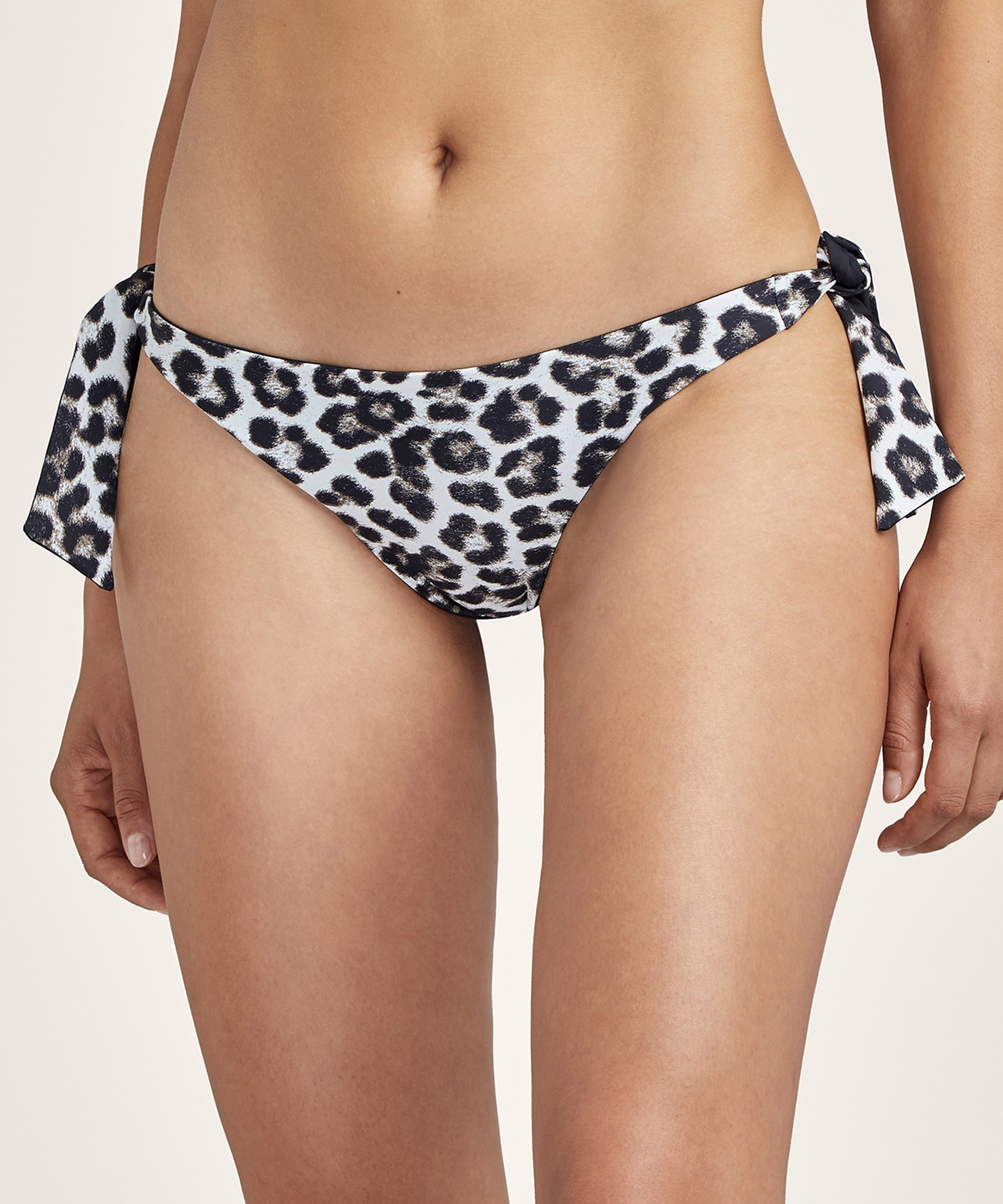 PEAU SAUVAGE Mini-coeur bikini bottom Panthère Brown | Aubade