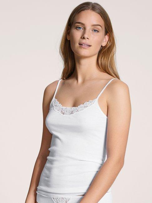 CALIDA Cotton Desire Top con spalline