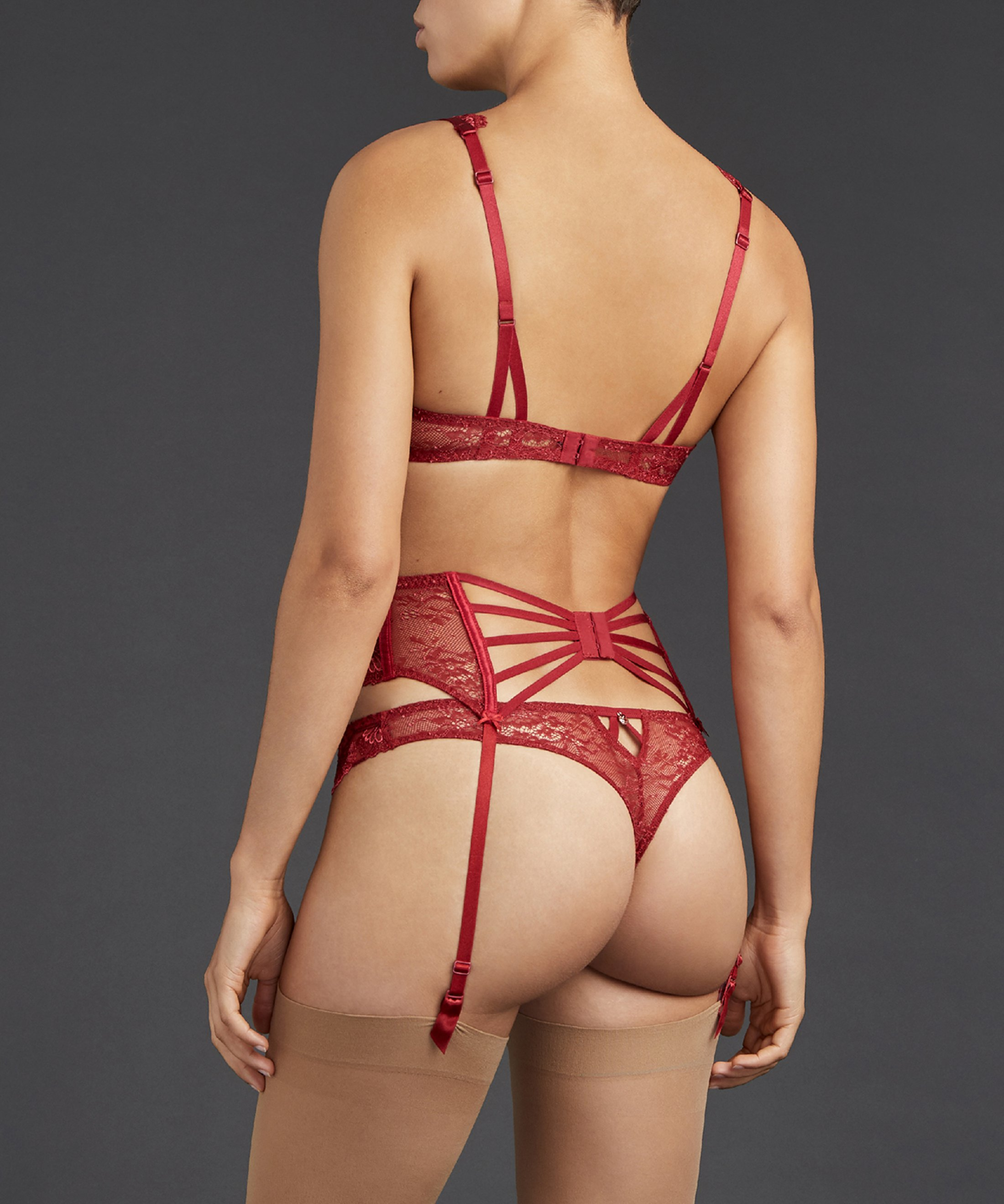 ART OF INK Waistcincher French Red | Aubade