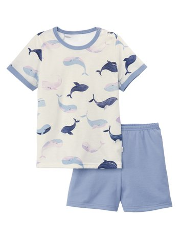 CALIDA Toddlers Whale Kinder Kurz-Pyjama